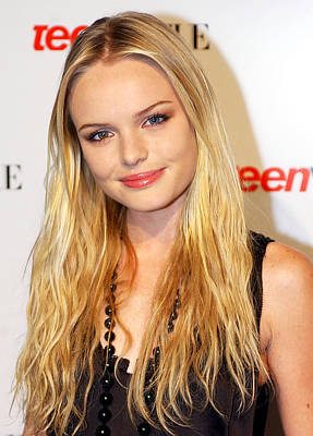 Kate Bosworth At The Teen Vogue Young Poster by Everett
