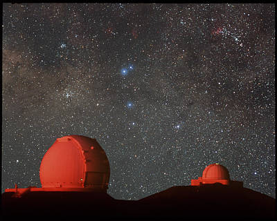 Keck & Irtf Telescopes Poster by Magrath Photographynielsen