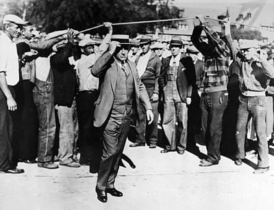Kohler Strike 1934 Poster by Granger