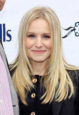 Kristen Bell At A Public Appearance Poster by Everett