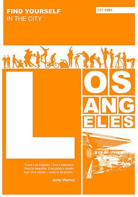La Orange Poster Poster by Naxart Studio