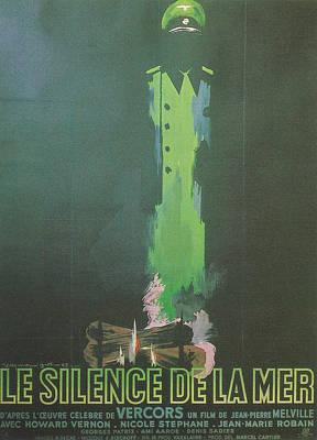 La Silence De La Mer Poster by Georgia Fowler
