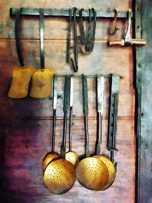 Ladles And Spatulas Poster by Susan Savad