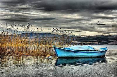 Lake - 4 Poster by Okan YILMAZ