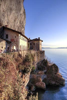 Lake Maggiore Santa Caterina Del Sasso Poster by Joana Kruse