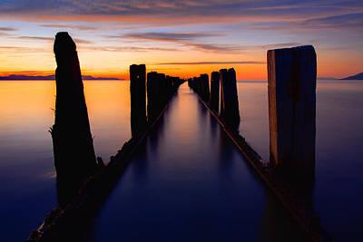 Lake Reflection Poster by Chad Dutson