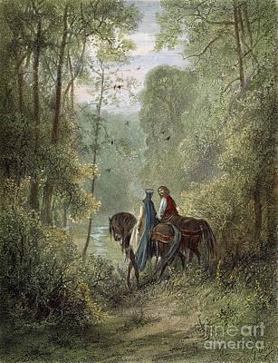 Lancelot & Guinevere Poster by Granger