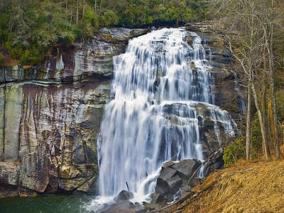 Large Waterfall Poster by Susan Leggett
