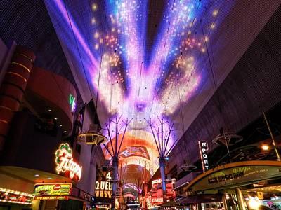 Las Vegas 062 Poster by Lance Vaughn