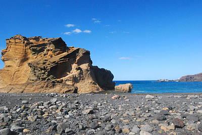 Lava Beaches, Lanzarote Poster by Antonio Camara