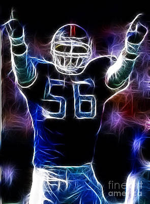 Lawrence Taylor  Poster by Paul Ward
