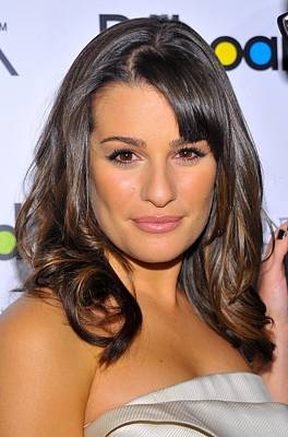 Lea Michele At Arrivals For Billboards Poster by Everett