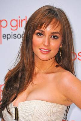 Leighton Meester At Arrivals For Gossip Poster by Everett