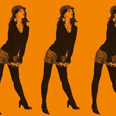 Lena Poster by Naxart Studio