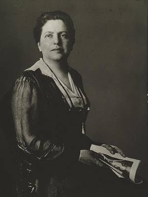 Lillian Wald 1867-1940, American Nurse Poster by Everett