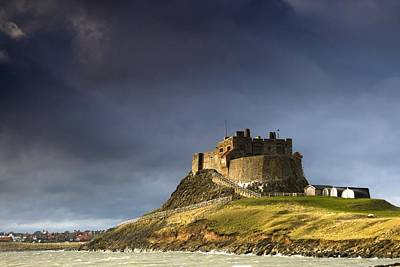 Lindisfarne Castle On A Volcanic Mound Poster by John Short
