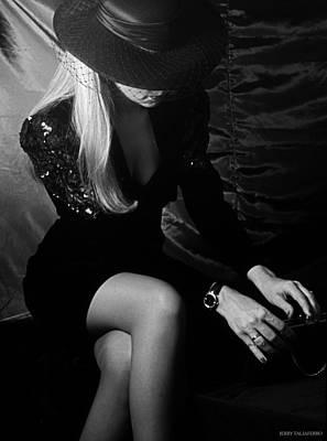 Little Black Dress 4 Poster by Jerry Taliaferro