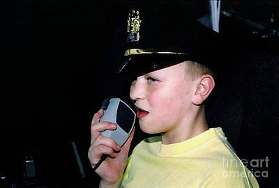 Little Officer 4 Poster by Susan Stevenson
