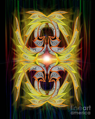 Look Into The Light Poster by Linda Seacord