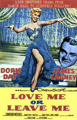 Love Me Or Leave Me, From Left Doris Poster by Everett