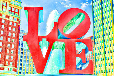 Love Poster by Mike OBrien