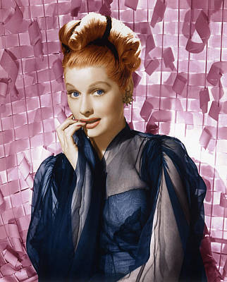 Lucille Ball, Ca. Mid 1940s Poster by Everett