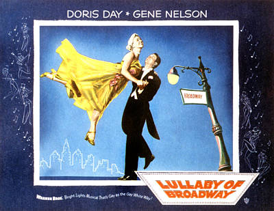Lullaby Of Broadway, Doris Day, Gene Poster by Everett