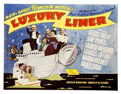 Luxury Liner, Xavier Cugat, Lauritz Poster by Everett