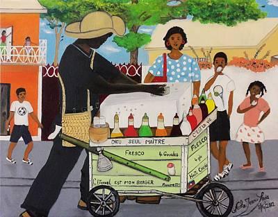 Machan Fresco Poster by Nicole Jean-Louis
