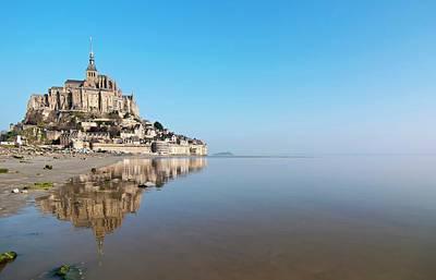 Magical Mont Saint-michel Poster by Paul Biris