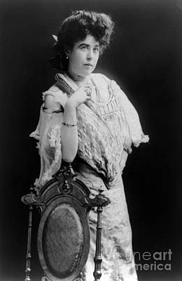 Margaret Molly Brown (1867-1932). The Unsinkable Molly Brown. American Socialite, Philanthropist, Activist, And Survivor Of The Titanic. Photographed C1900 Poster by Granger