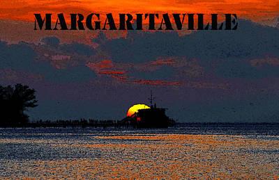Margaritaville Poster by David Lee Thompson