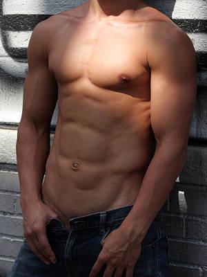 Masculine Photograph Poster by Mark Ashkenazi
