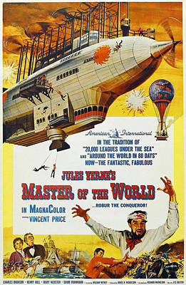 Master Of The World, Lower Right Poster by Everett