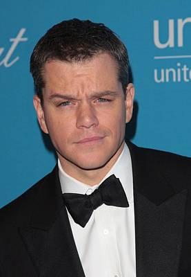 Matt Damon In Attendance For 2009 Poster by Everett