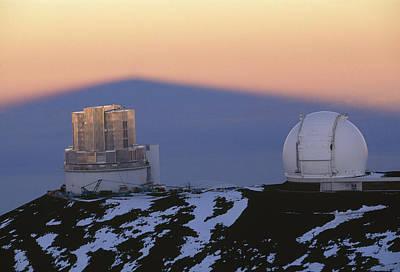 Mauna Kea Observatory, Hawaii Poster by G. Brad Lewis
