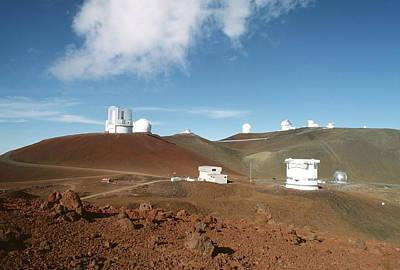 Mauna Kea Telescopes Poster by Magrath Photography