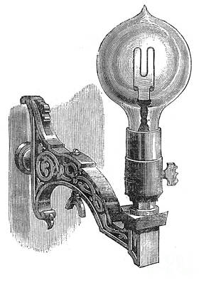 Maxim Incandescent Lamp Poster by Granger