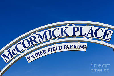 Mccormick Place Sign In Chicago Poster by Paul Velgos