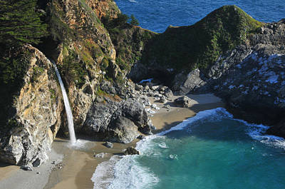 Mcway Falls Poster by Lynn Bauer
