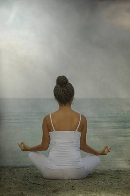 Meditation Poster by Joana Kruse