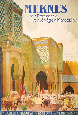 Meknes Morocco Poster by Georgia Fowler