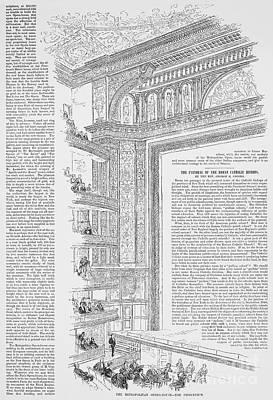 Metropolitan Opera, 1883 Poster by Granger