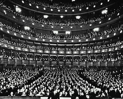 Metropolitan Opera House Poster by Archive Holdings Inc.