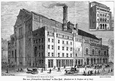 Metropolitan Opera House Poster by Granger