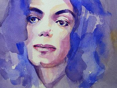 Michael Jackson - Take 5 Poster by Hitomi Osanai