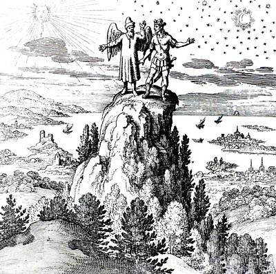 Microcosm, Macrocosm, 17th Century Poster by Science Source