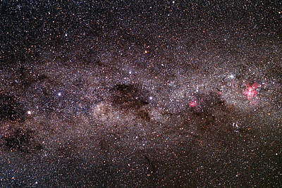 Milky Way Poster by Dr Fred Espenak