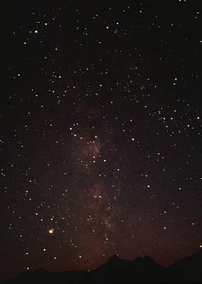 Milky Way Starfield Poster by Alan Sirulnikoff