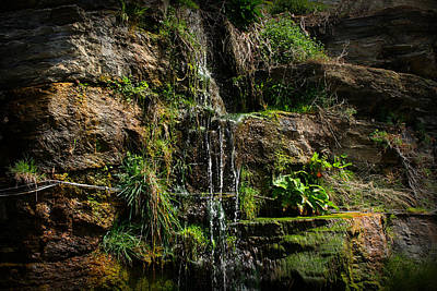 Mini Waterfall Poster by Kevin Flynn